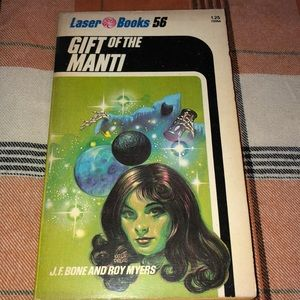 Vintage Gift of The Manti 1977 Rare SciFi